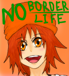 NO BORDER NO LIFE